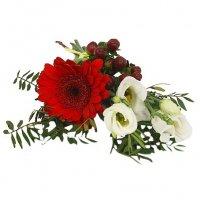 beställa blommor begravning